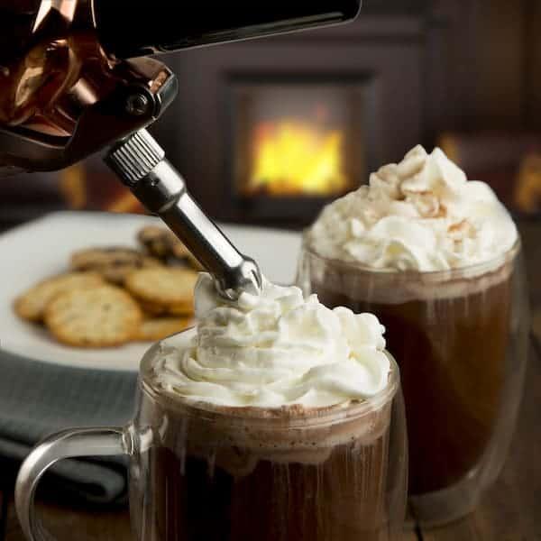 5 Baie Maison Cream Whipper Hot Chocolate 600