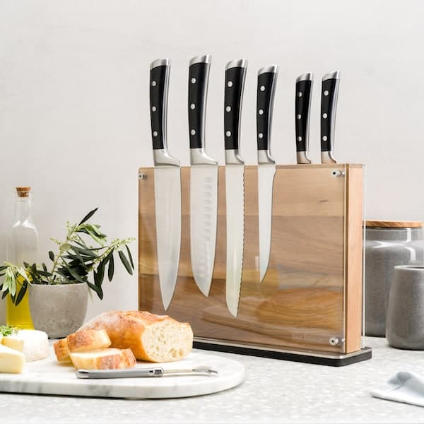 Manhattan Magnetic Knife Holder Block Double Sided 7