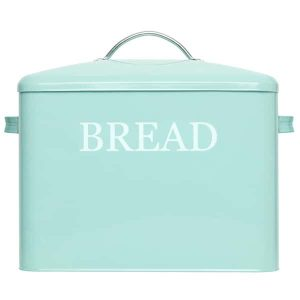 Pennsylvania Large Farmhouse Bread Box Turquoise 1