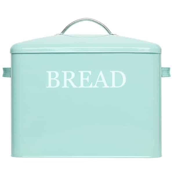 Pennsylvania Large Farmhouse Bread Box Turquoise 1