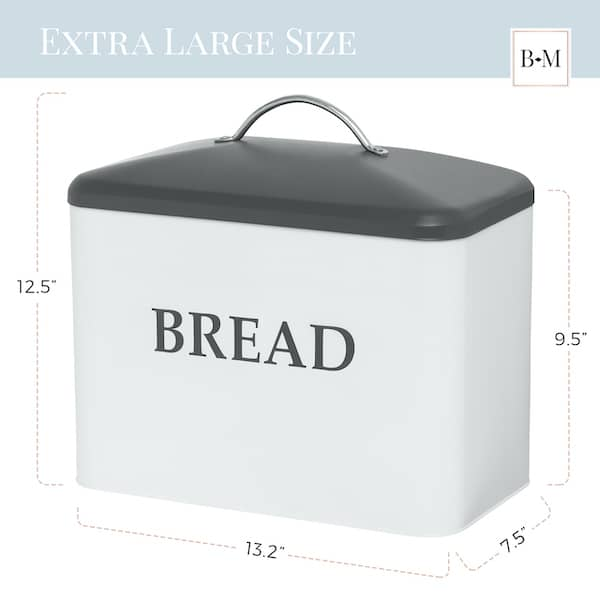 Kennedy Extra Large Farmhouse Bread Box 3