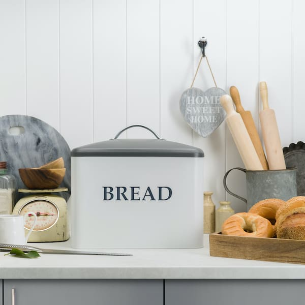 Kennedy Extra Large Farmhouse Bread Box 6