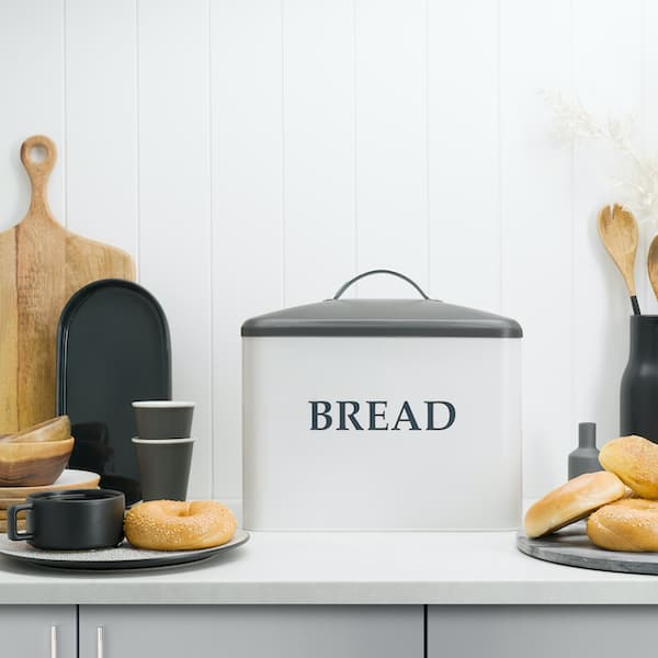 Kennedy Extra Large Farmhouse Bread Box 7