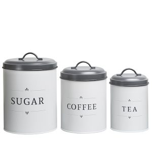 Georgia Modern Farmhouse Kitchen Canisters 1