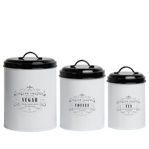 Provence Farmhouse Kitchen Canister Set 1